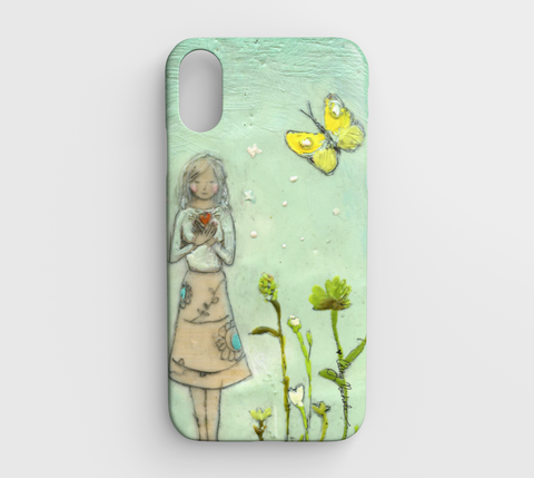 she walks in beauty iphone xr case