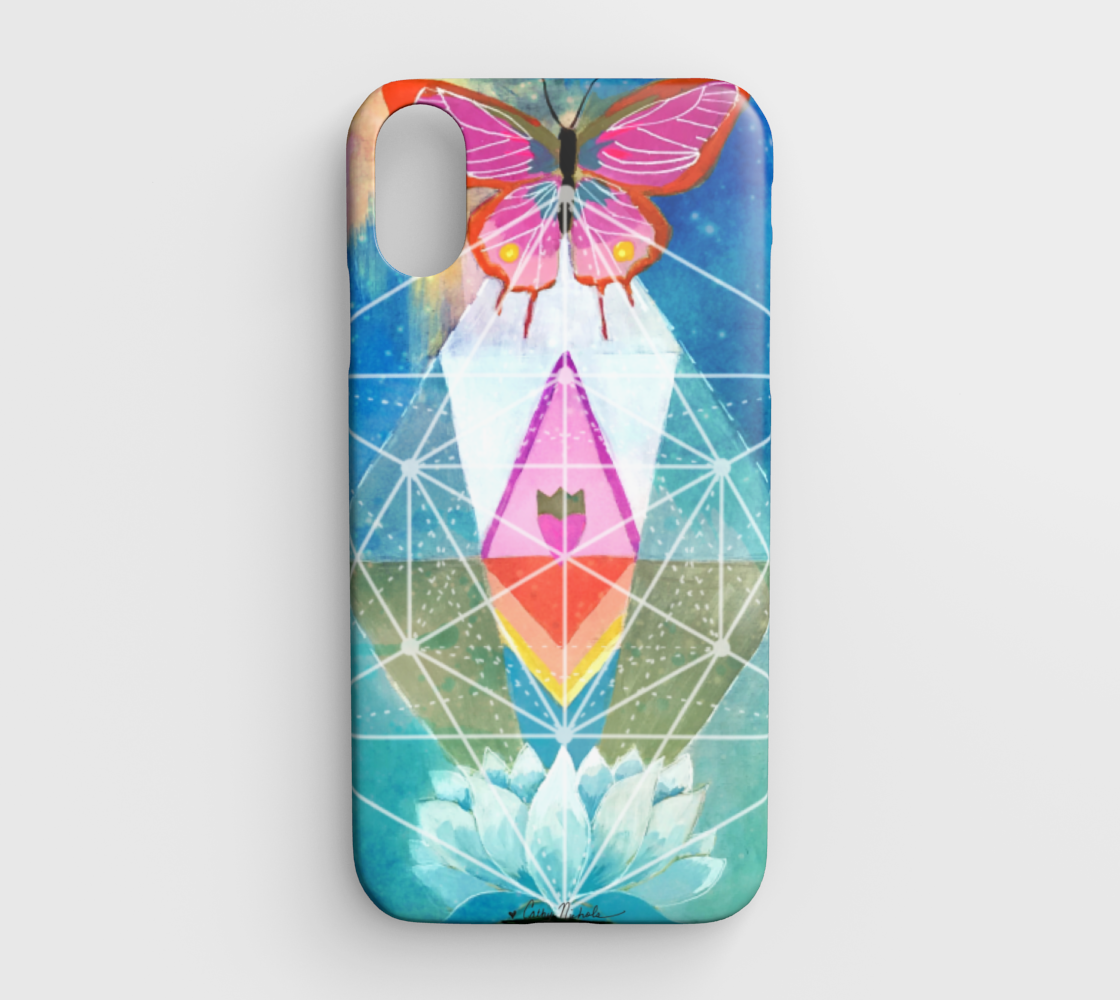 sacred geometry iphone xr case