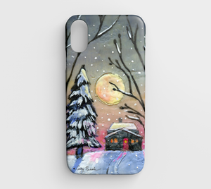 let it snow iphone xr case