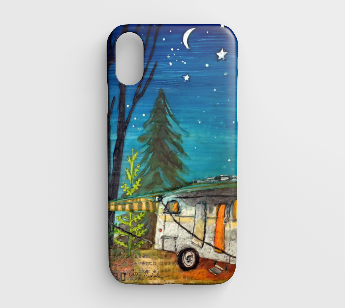 airstream camper iphone xr case