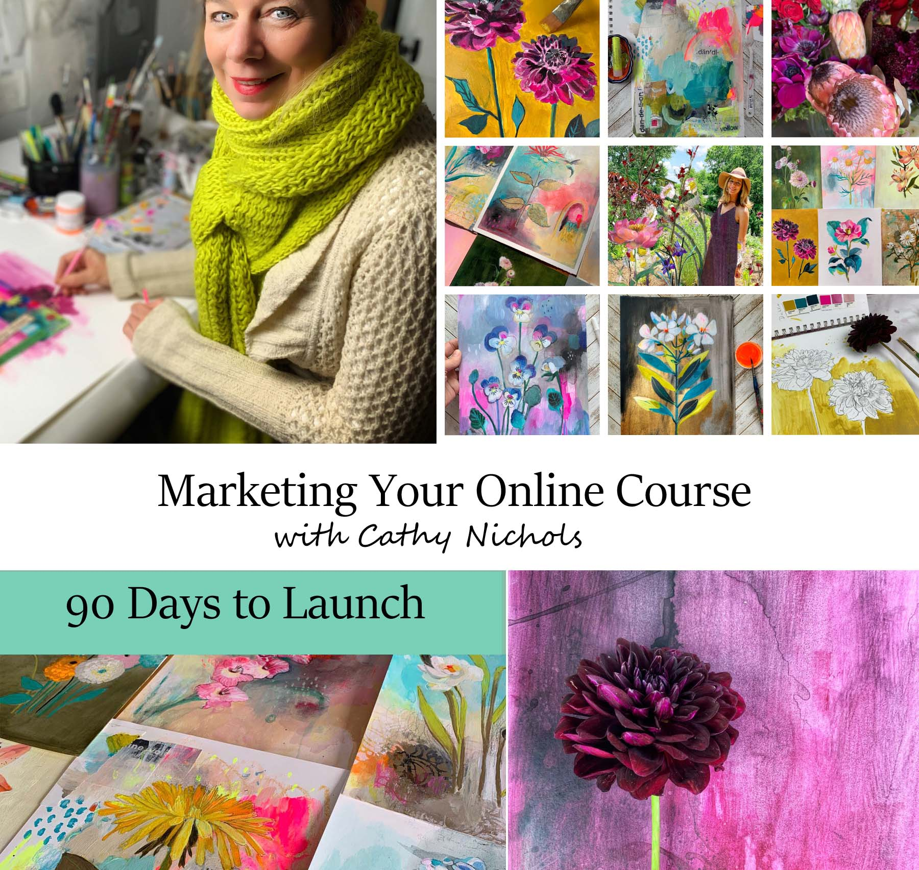 Marketing Your Online Course: 90 DAYS to LAUNCH