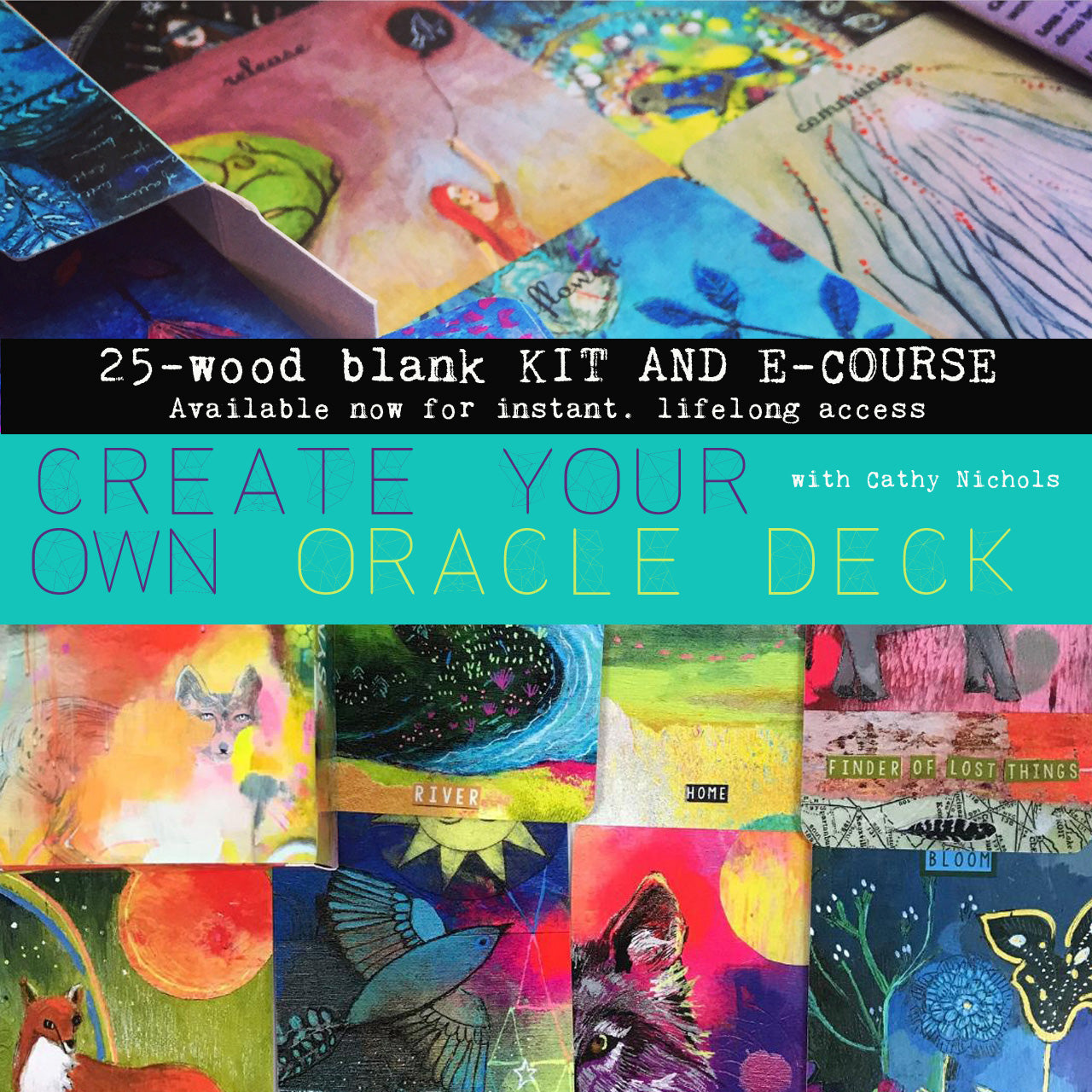 Create Your Own Oracle Deck E-Course & Kit -- Available Now