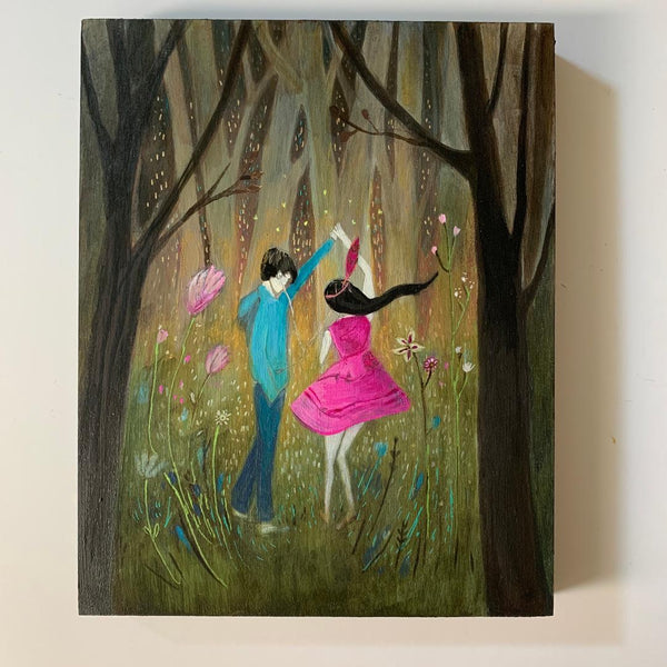 Our Song - Original Acrylic Painting on Wood