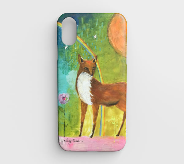 little fox iphone xr case