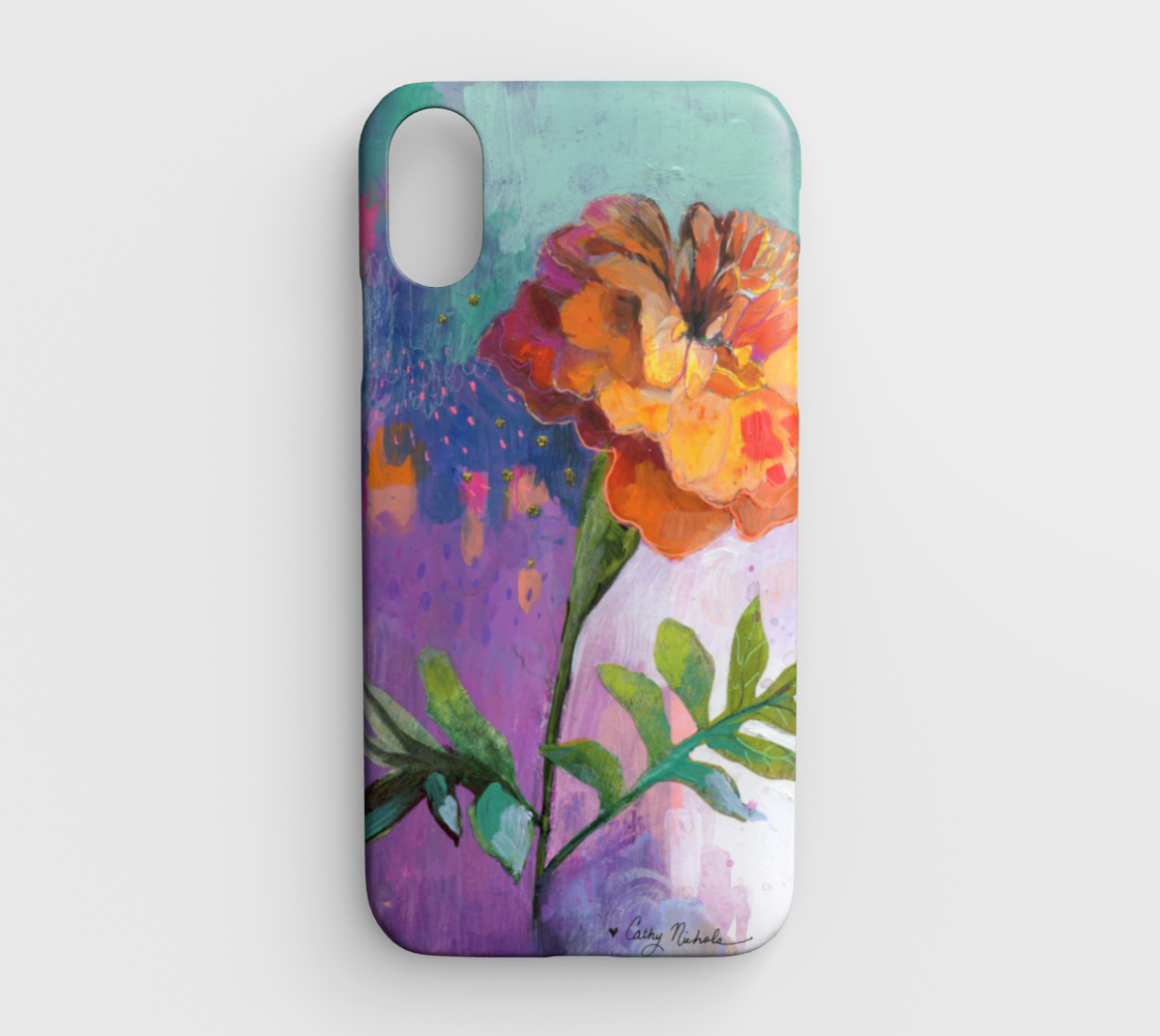 marigold iphone xr case
