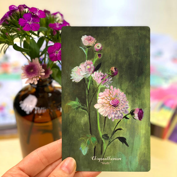 NEW - Flower Medicine Oracle Deck