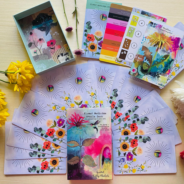 Flower Lovers Bundle (class + deck) (only 2 left)