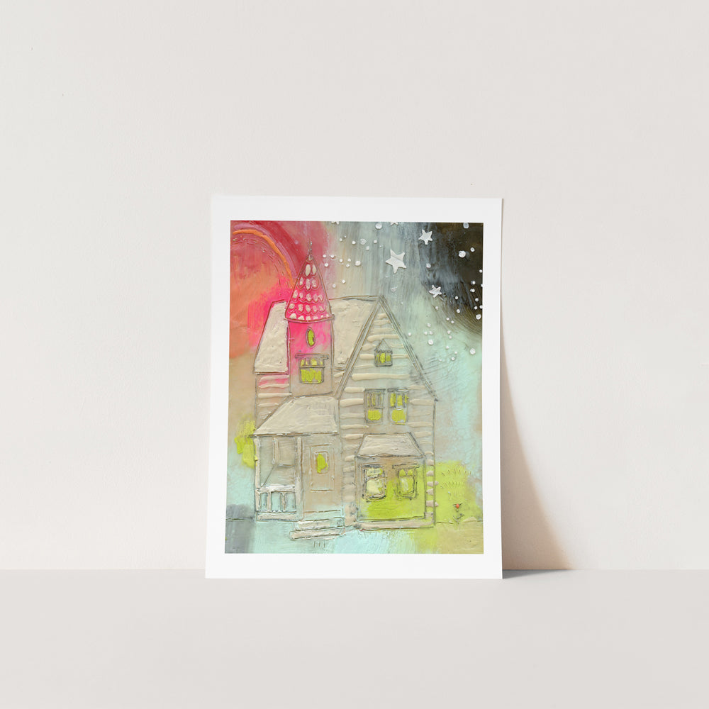 House of Unapologetic Joy - Print on Paper