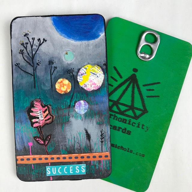 Success - Hand Painted Wooden Oracle Card