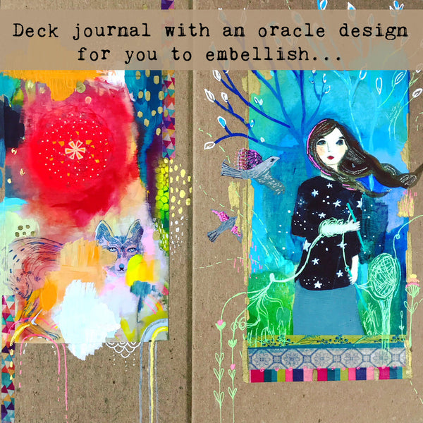 NEW! Create Your Own Oracle Deck E-Course & Kit