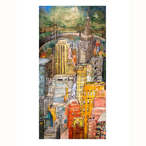 Limited Edition Print: Radiant Manhattan