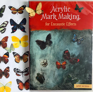 Acyrlic Mark Making for Encaustic Effects
