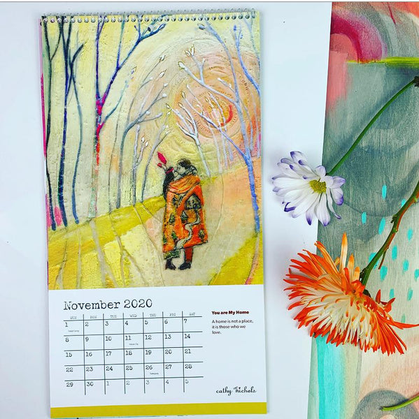 NEW! 2020 Calendar - Hope Blooms (limited supplies!)