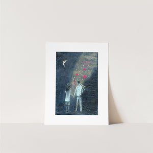 The Light Between Us- Print on Paper