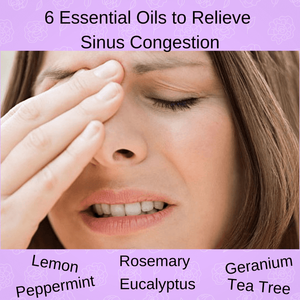 6 Essential Oils to help Sinus Congestion