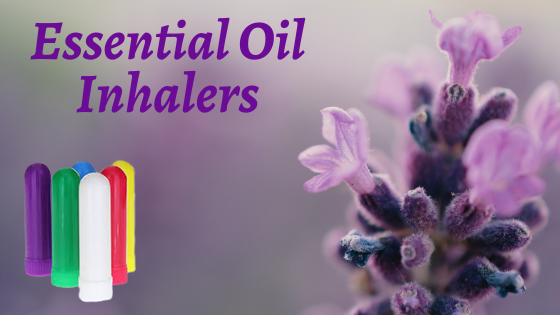 DIY Essential Oil Inhaler Blends
