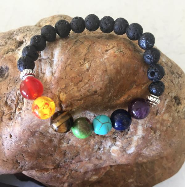 Child's Chakra Bracelet - Wellness Oils & Beads