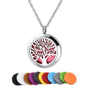 Essential Oil Pendant Diffuser Necklace-Wellness Oils & Beads
