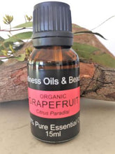 Load image into Gallery viewer, Certified Organic Grapefruit Oil 15 ml - Wellness Oils & Beads