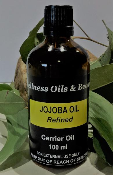 Jojoba Refined Carrier Oil 100 ml - Wellness Oils & Beads