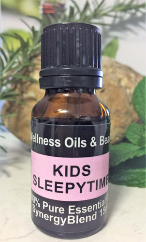 Kids Sleepytime Essential Oil Blend 15ml-Wellness Oils & Beads