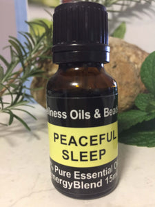 Peaceful Sleep Essential Oil Blend 15ml-Wellness Oils & Beads