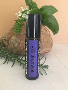 Breathe Ezy Essential Oil Roll-On 10 ml-Wellness Oils & Beads