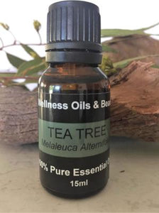 Tea Tree Essential  Oil 15 ml - Wellness Oils & Beads