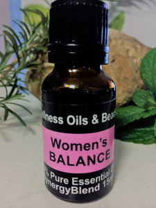 Women's Balance Essential Oil Blend 15ml-Wellness Oils & Beads