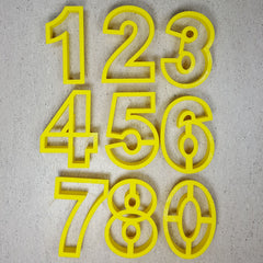 Number Cutters (Thin Version)