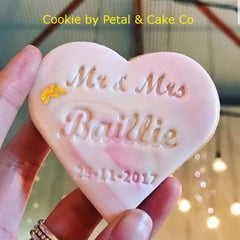 Heart Custom Text Personalised Embosser
