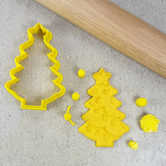 DIY Christmas Tree Cutter & Embosser Set