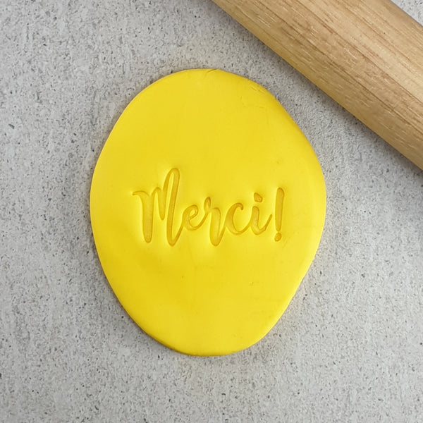 Merci (Thank You) Embosser French