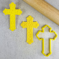 Decorative Cross Embosser and Cutter Set