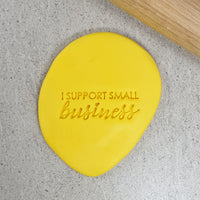 I Support Small Business Embosser