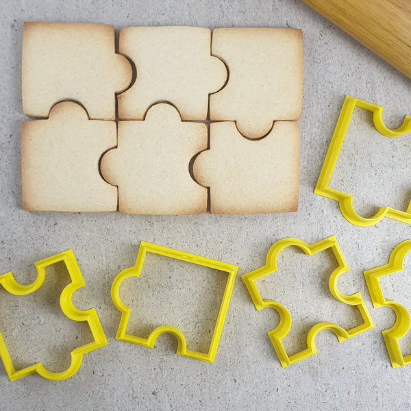 5pc Multi Size Jigsaw Puzzle Cutters