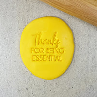 Thanks For Being Essential Embosser