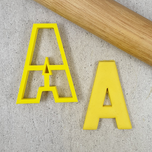 102mm Single Letter Cutters (Thin Version)