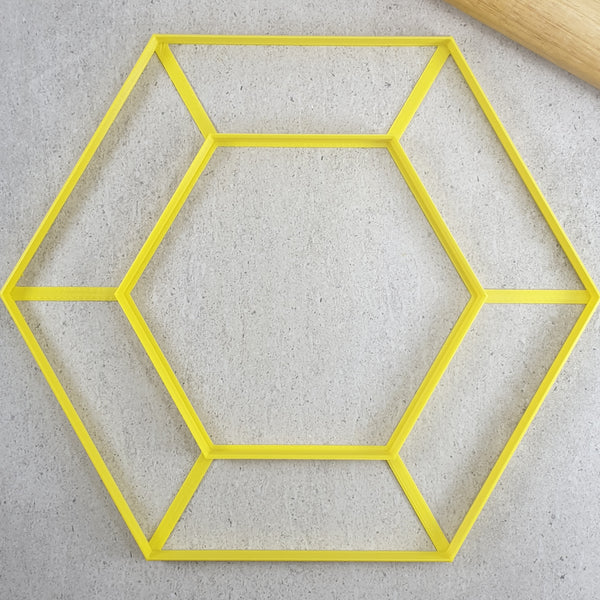 Hexagon Cookie Cake Cutter
