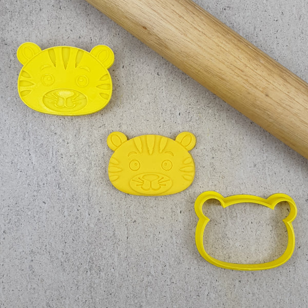 Cute Jungle Animals Debosser & Cutter Set