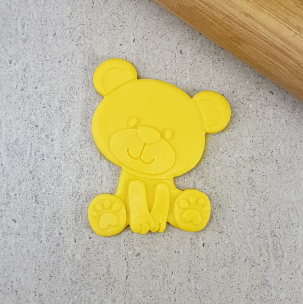 Teddy Bear Cutter and 3D Embosser