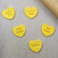 Candy Heart I Love You Set
