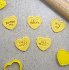Candy Heart Naughty Set