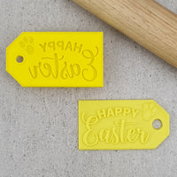 Happy Easter Gift Tag Debosser & Cutter