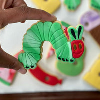 Hungry Caterpillar Cutter & Embosser Set (Optional Food Cutters)