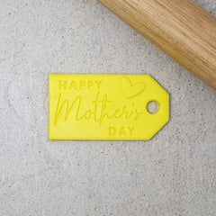 Happy Mother's Day Gift Tag Debosser & Cutter