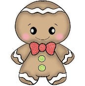 Chubby Gingerbread Boy