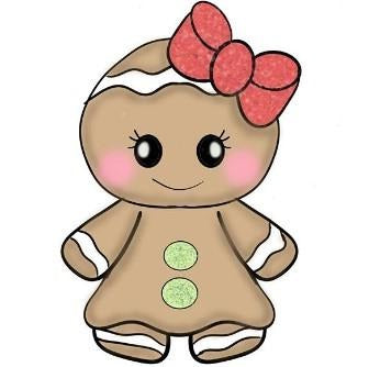 Chubby Gingerbread Girl