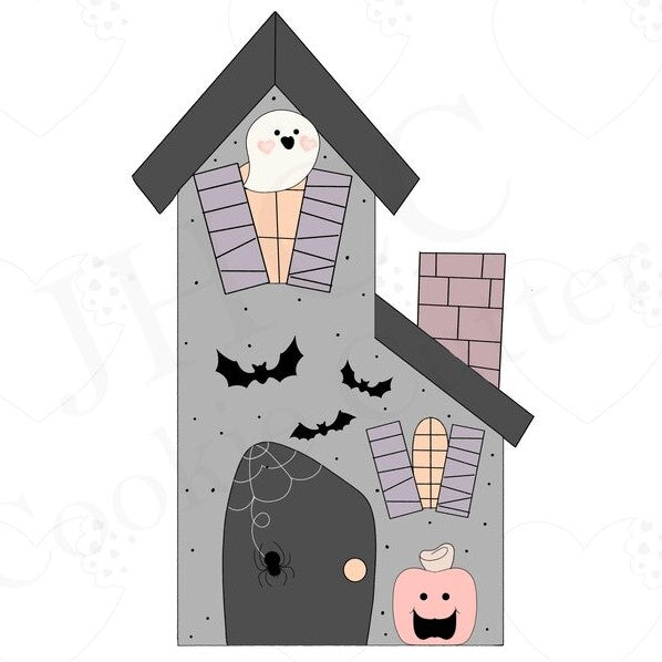 Haunted House & Accessories Set