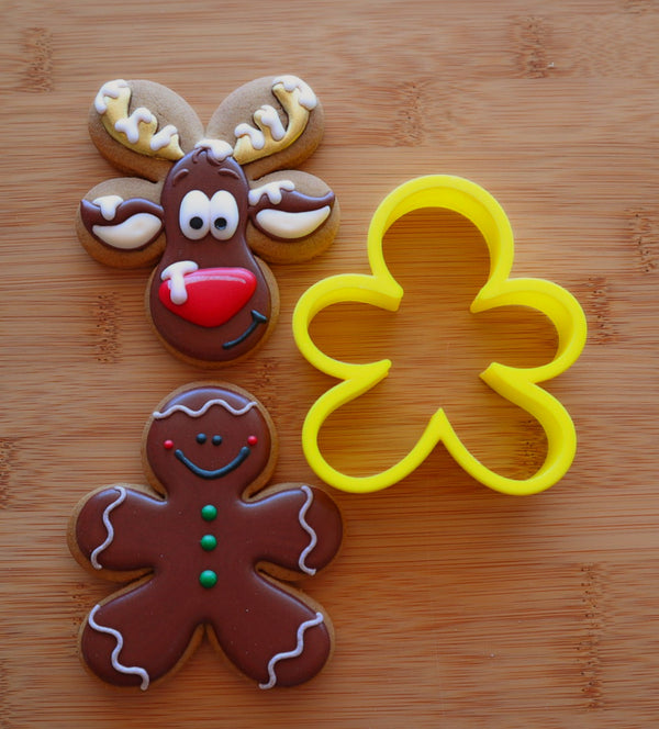 Reindeer (Gingerbread Man) Cutter (Adelaide Bakes Collection)